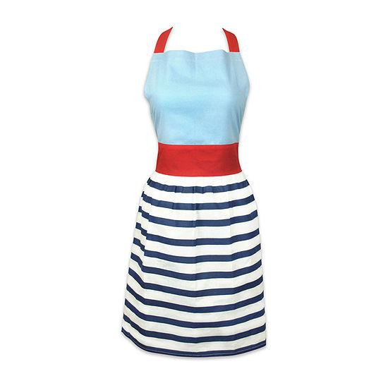 Design Imports Striped Skirt Apron