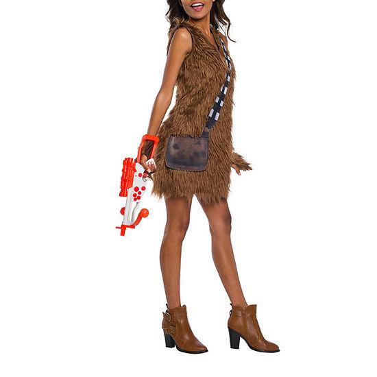 Classic Chewbacca Dress 3-pc. Star Wars Dress Up Costume Womens
