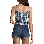 Fire Juniors Love Fire Easy Strappy Tank Womens U Neck Sleeveless Tank Top