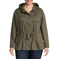 Deals on St. John's Bay Hooded Anorak