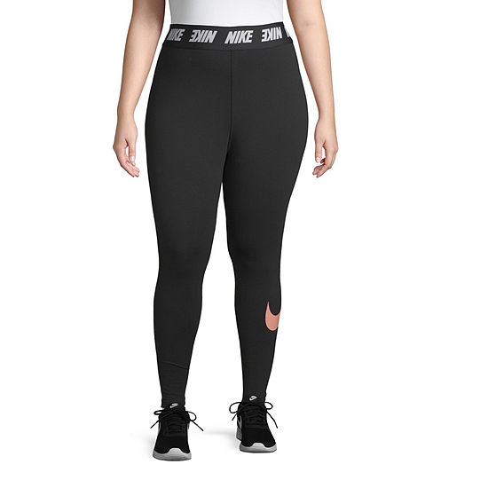 Nike-Plus Womens Mid Rise Legging