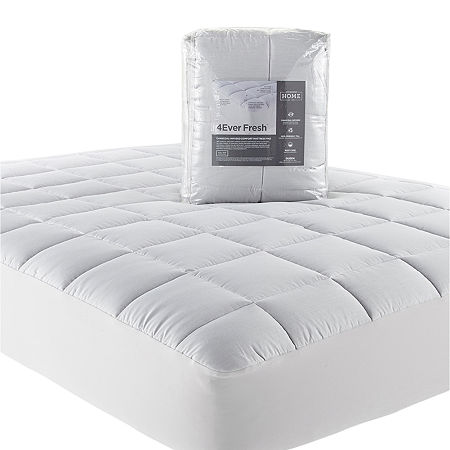 JCPenney Home 4Ever Fresh Charcoal Infused Mattress Pad, One Size , Gray