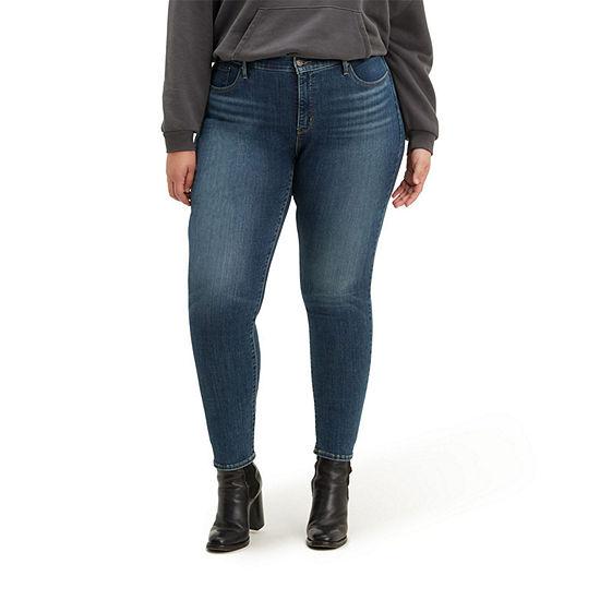 Levi's - Plus Shaping Skinny Womens Mid Rise 311 Skinny Fit Jean