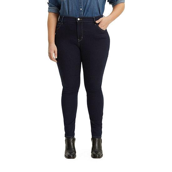 Levi's - Plus Super Skinny Womens High Rise 720 Skinny Fit Jean