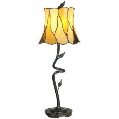 Dale Tiffany™ Twisted Leaf Table Lamp