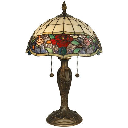 Dale Tiffany™ Rose Border Table Lamp