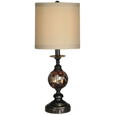 Dale Tiffany™ Mosaic Ball Art Glass Table Lamp