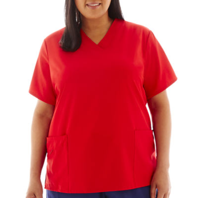 Jockey® 2206 Short-Sleeve V-Neck Top - Plus