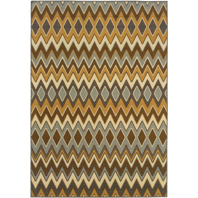 Covington Home Ziggy Indoor/Outdoor Rectangular Rug