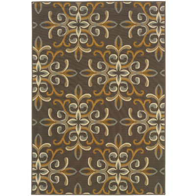 Covington Home Filigree Indoor/Outdoor Rectangular Rug