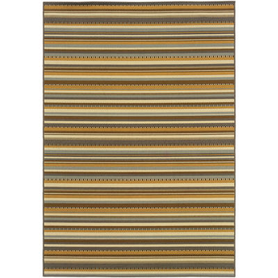 Covington Home Stripe Indoor/Outdoor Rectangular Rug