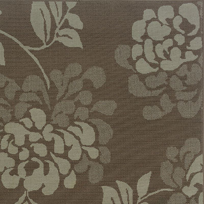 Covington Home Shadow Floral Indoor/Outdoor Rectangular Rug