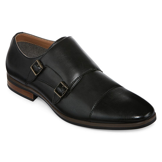 JF J. Ferrar® Sloan Mens Monk Strap Shoes