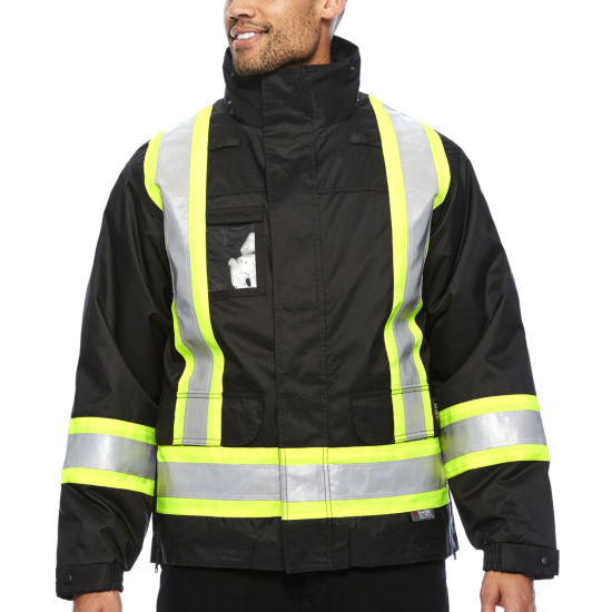 Work King® High Visibility Lined 5-In-1 Jacket