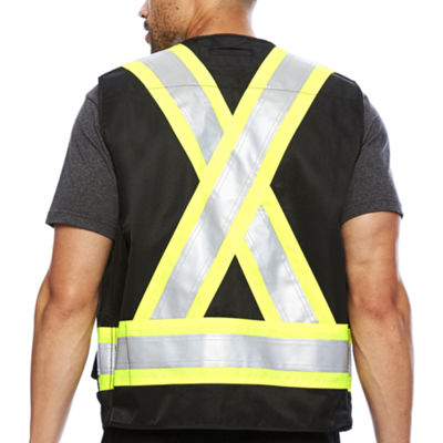 Work King® High Visibility Surveyor Vest - Big & Tall
