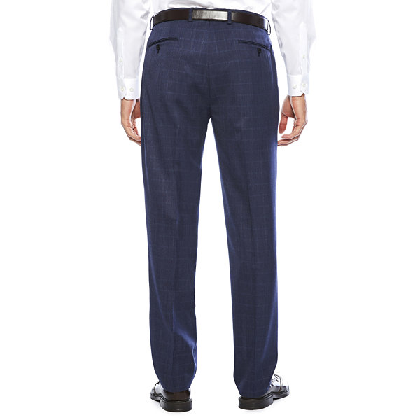 Collection by Michael Strahan Blue Classic Fit Pants