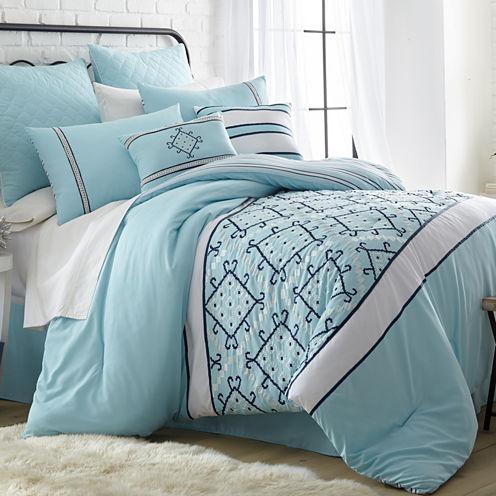 Pacific Coast Textiles Arizona Microfiber 8-pc. Comforter Set