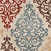 Alpine Scroll Rectangular Rug