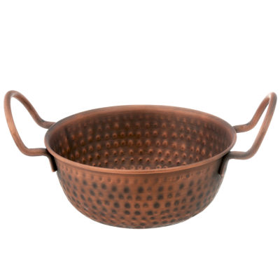 Thirstystone® Urban Farm Hammered Antique Copper Balti Bowl