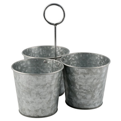 Thirstystone® Urban Farm Galvanized Iron Snack Buckets