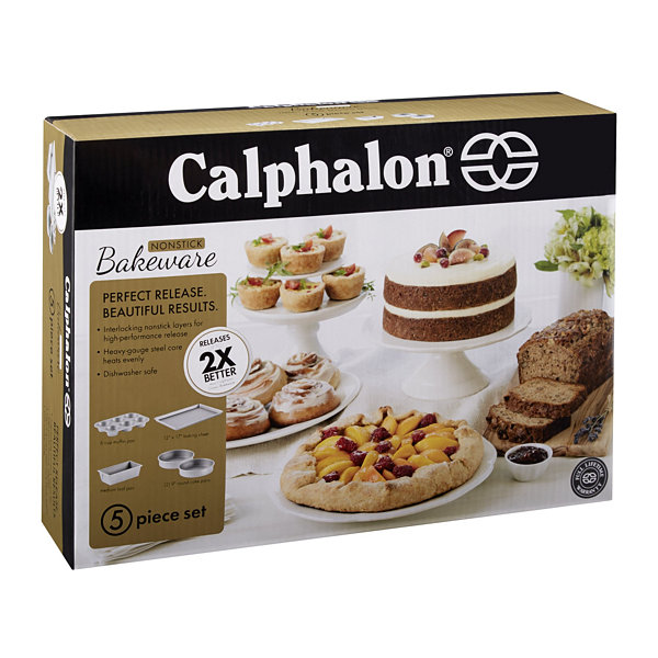 Calphalon® Gourmet Hard-Anodized Nonstick 5-pc. Bake Set