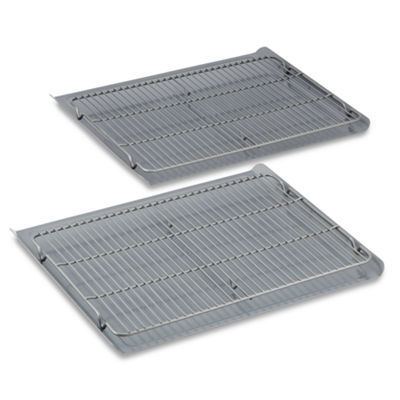 Calphalon® Gourmet Hard-Anodized Nonstick 4-pc. Cookie Sheet & Cooling Rack Bake Set