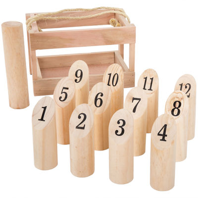 Wooden Throwing Game-Complete Set