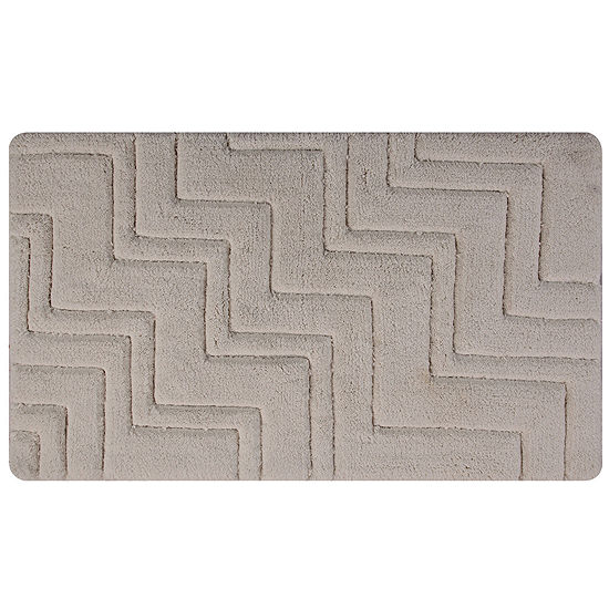 Castle Hill London Zig Zag Bath Rug Collection