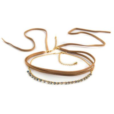 Arizona Womens 2-pack Necklace Set
