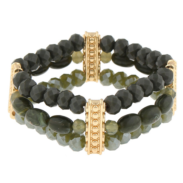 Mixit Womens Beaded Bracelet