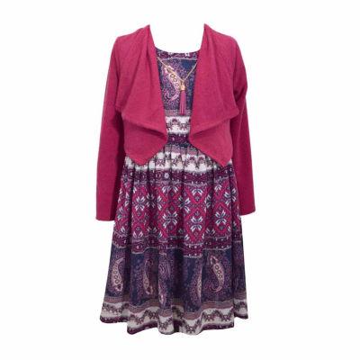 Bonnie Jean Jacket Dress Preschool Girls