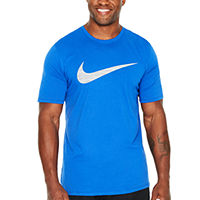 Deals on Nike Swoosh Short-Sleeve Tee-Big & Tall Mens