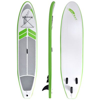 Blue Wave Sports Manta Ray 12-ft Inflatable StandUp Paddleboard with Paddle & Hand Pump