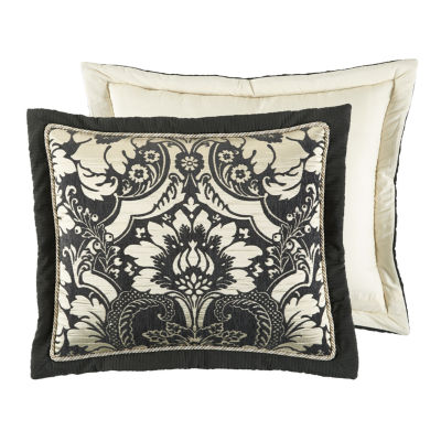 Croscill Classics Napoleon 4-pc. Damask + Scroll Reversible Comforter Set