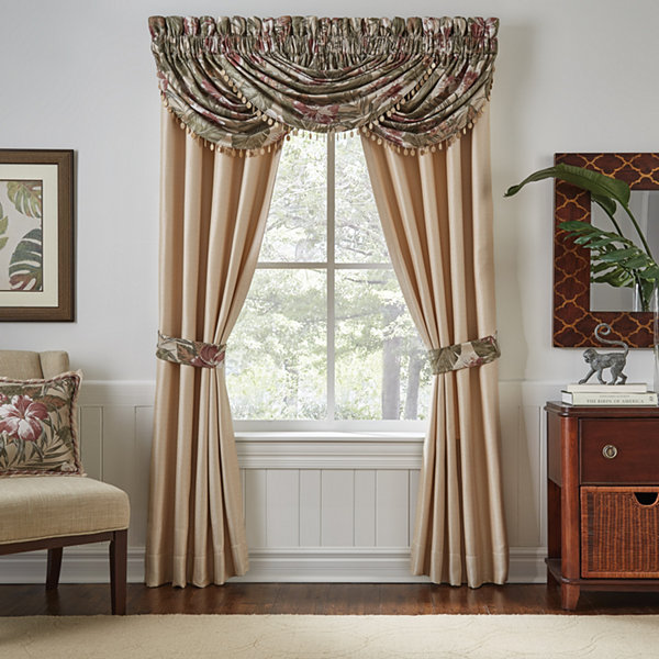 Croscill Classics Anguilla Rod-Pocket Curtain Panel