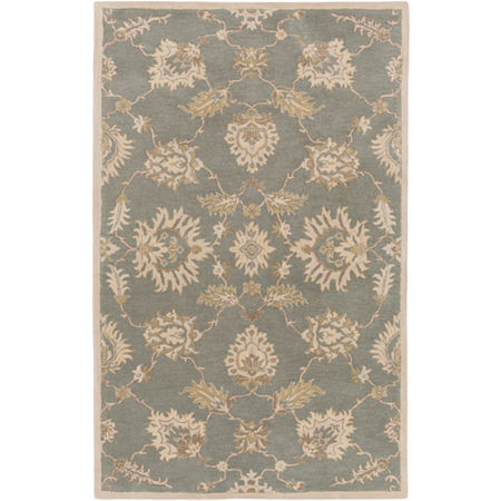 Decor 140 Hablum Rectangular Rugs, One Size , Green