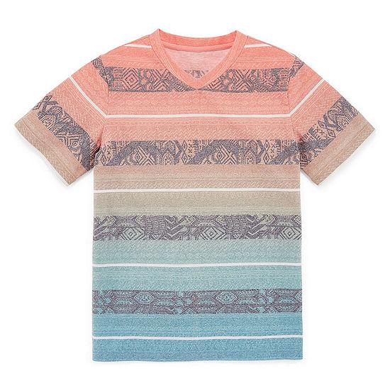 Arizona Little & Big Boys Short Sleeve T-Shirt