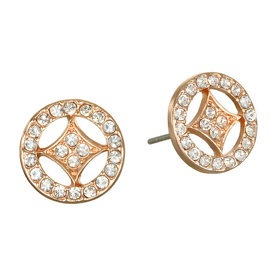 Mixit 10.9mm Round Stud Earrings