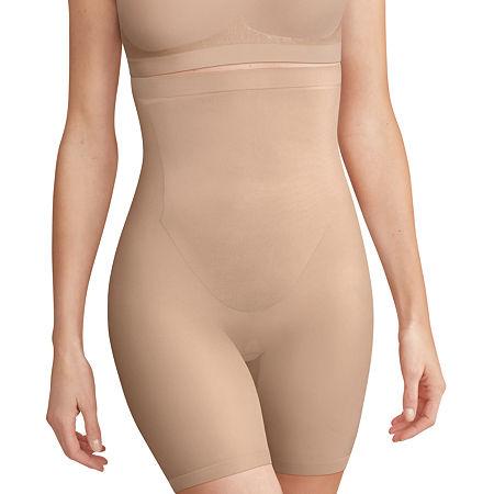 Bali Comfort Revolution High Waist Thigh Slimmers - Df0053, X-large , Beige