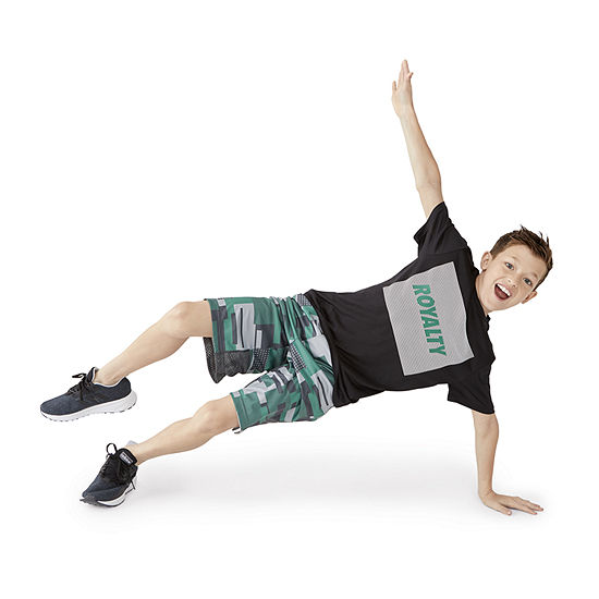 Xersion Boys Graphic Tee & Vital Short