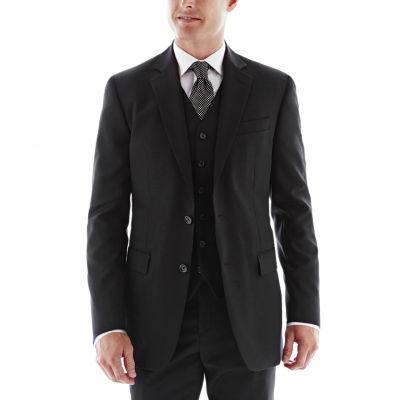 Stafford® Executive Super 100 Wool Jacket - Slim Fit