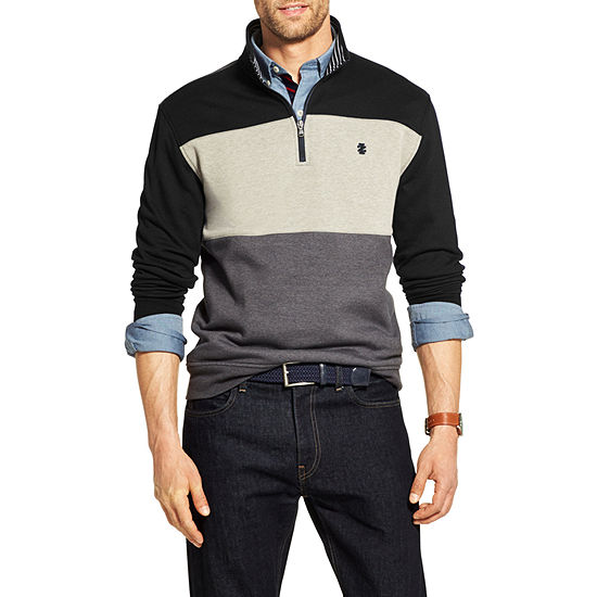 IZOD Advantage Fleece Quarter Zip Pullover