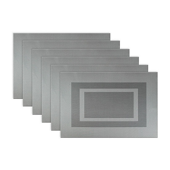 Design Imports Rectangle Doubleframe 6-pc. Placemat