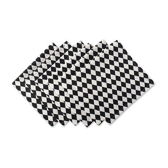 Design Imports Harelquin 6-pc. Napkins