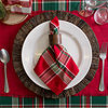 Design Imports Tango Plaid 6-pc. Napkins