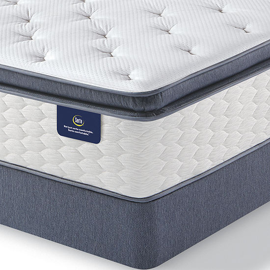 Serta Special Edition Ii Plush Super Pillowtop Mattress Box Spring