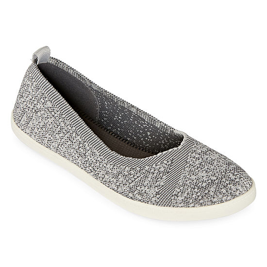 Arizona Womens Perkins Slip-on Closed Toe Ballet Flats