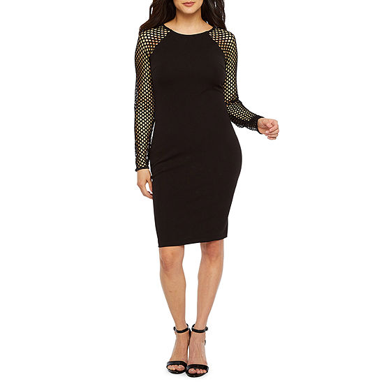 Premier Amour Long Sleeve Sheath Dress