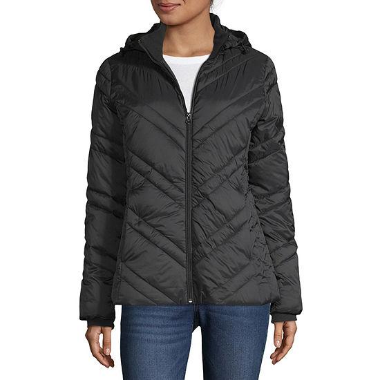 Xersion Water Resistant Lightweight Puffer Jacket