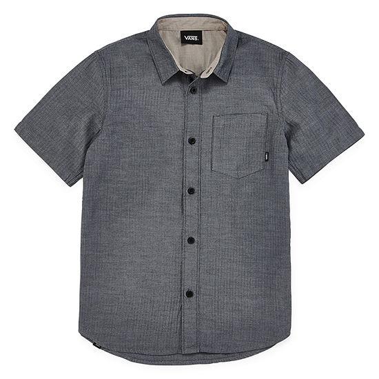 Vans Boys Short Sleeve Button-Down Shirt